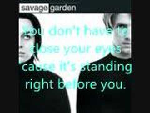 Truly madly deeply by savage garden with lyrics youtube I want you savage garden lyrics