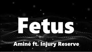 Aminé - Fetus (ft. Injury Reserve) (Lyrics)