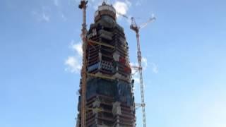 Лахта Центр Апрель 2017 ● Lakhta Center April 2017 Строительство небоскреба в Санкт-Петербурге