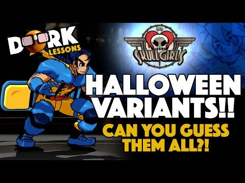 Skullgirls: I'm Back! We're Checking Out Halloween Comic Variants!