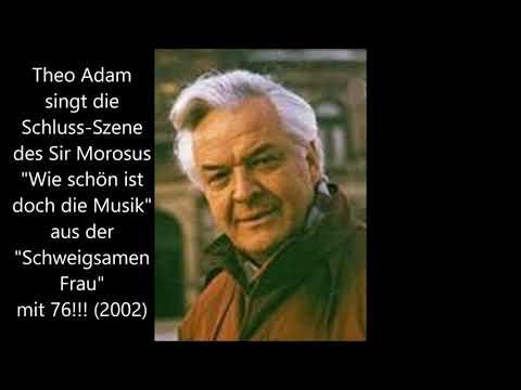 Theo Adam als Sir Morosus - mit 76!!! (2002)