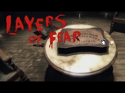 Layers of fear gameplay pc español/Halloween special OUIJA