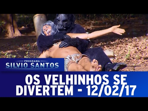 Os Velhinhos Se Divertem (12/02/17) | Completo