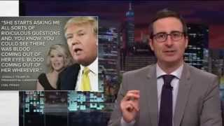 Last Week Tonight with John Oliver - Mocks Donald Trump @ GOP Debate