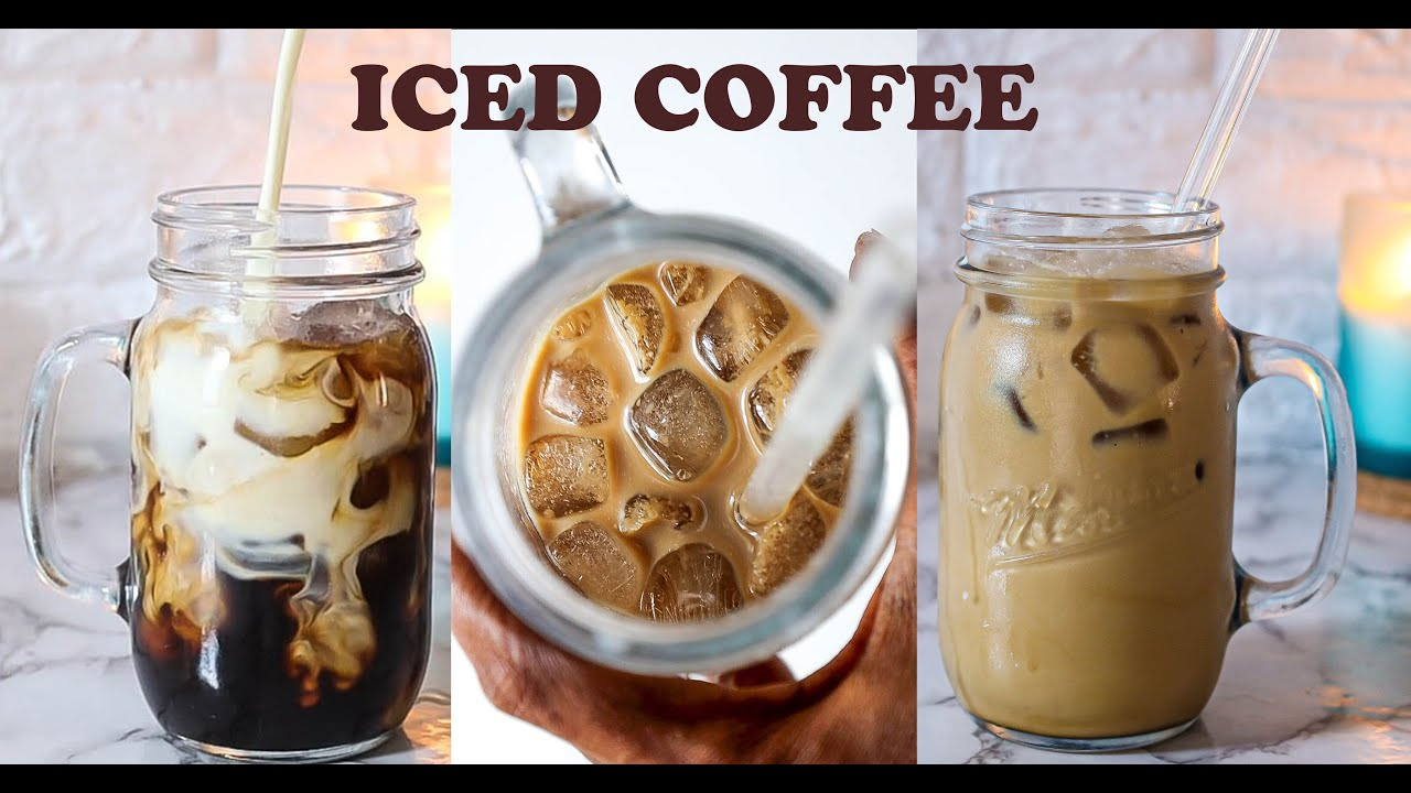 Download HOW TO MAKE ICED COFFEE (Quick & Easy Iced Coffee Recipe)