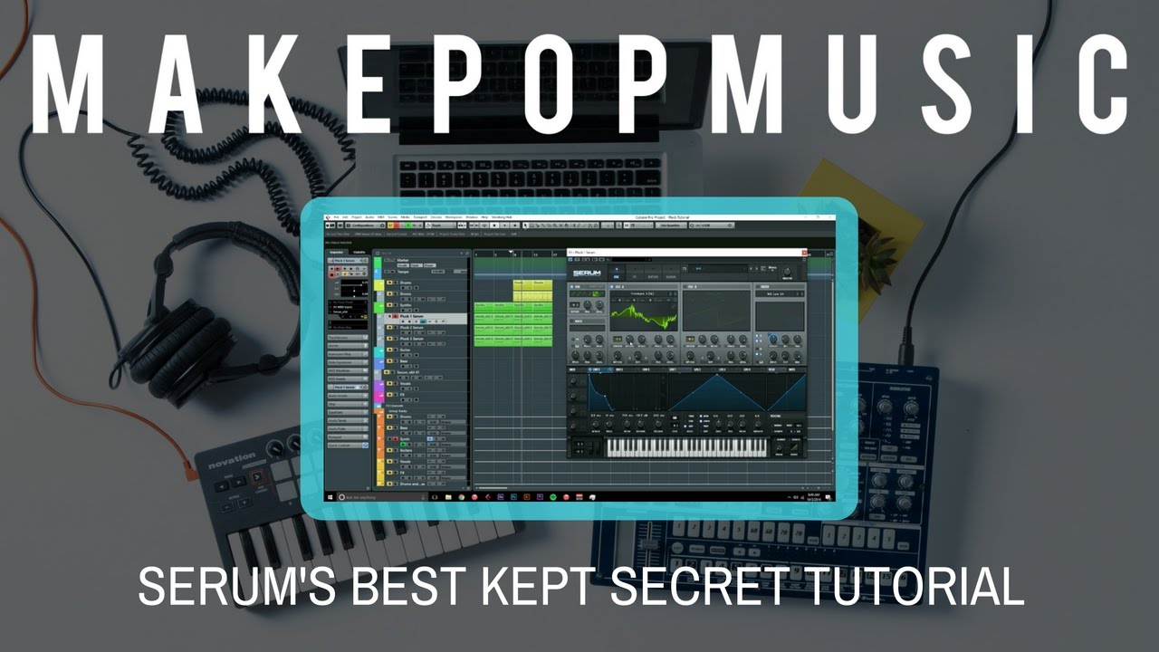 Xfer Serum Vocal Chopping Tutorial - Pop Music Production