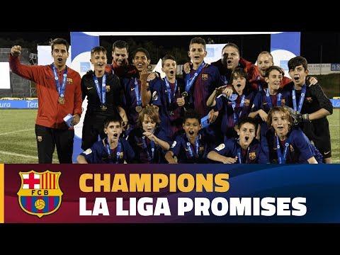 [ESP] FINAL LALIGA PROMISES: FC Barcelona (Infantil B) - Valencia (0-1)