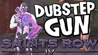 "SAINTS ROW 4 - ALL DUBSTEP GUN SONGS GAMEPLAY! Industrial + ""Pop Star"" +Download"