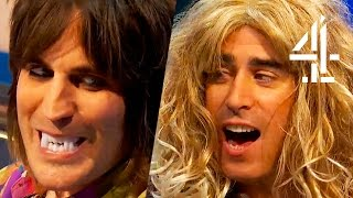 Noel Fielding & Stephen Mangan Re-Enact Twilight & James Bond | 8 Out Of 10 Cats Does Countdown