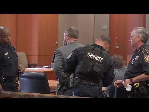 RAW VIDEO: Terry Thompson handcuffed after guilty verdict
