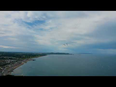 Amazing Looping during the Bray Aircraft Display 2017 - Bray Head (Dublin)