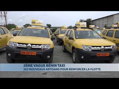 Bénin Taxi : la deuxième vague de 203 véhicules lancée à Cotonou