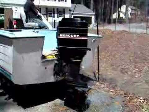 90 Hp Mercury Outboard >> 90 mercury tower of power - YouTube