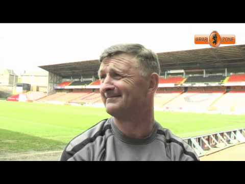 Paul Hegarty's www.arabzone.co.uk Pre Match Interview - A Blooper File