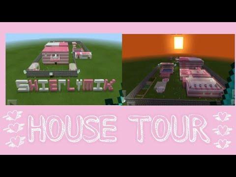 HOUSE TOUR   MINECRAFT   SHIERLY MIK