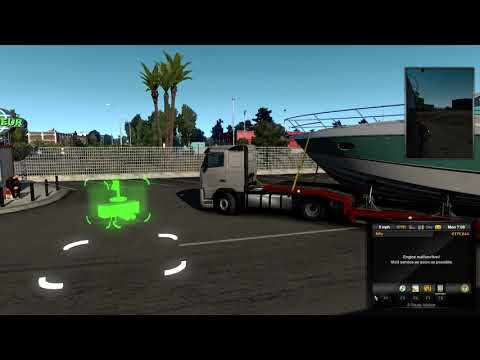 Euro Truck Simulator 2 -  Yatch Queen