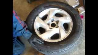How Repair Tire Bead Leak Simple Tools