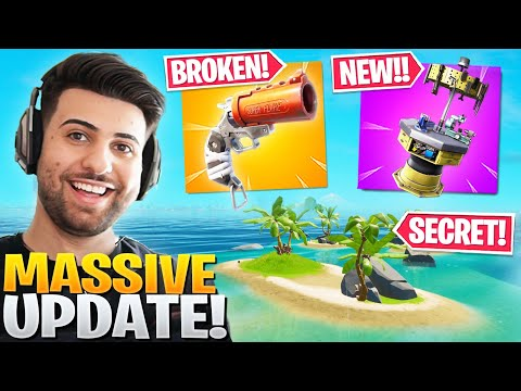 EVERYTHING Epic Didn't Tell You In The HUGE Update! (Flare Gun, New Upgrades!) - Fortnite Season 3