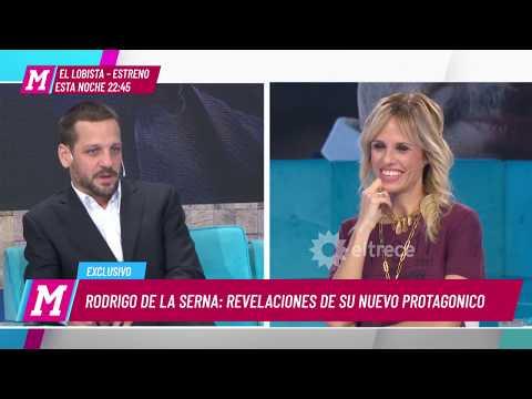 ¿Cómo es Rodrigo de la Serna en el rol de papá con su hija de 17 años?