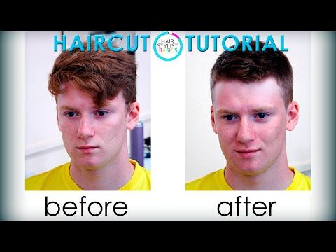 Short man haircut (короткая...