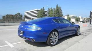 Cobalt Blue Aston Martin Rapide S