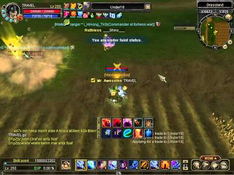 PVP SRO GAME LEVEL 250  D14 ( made by Vietnam Gamer)