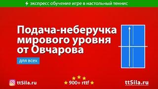 Подача-неберучка Овчарова против Лин Юн Джу