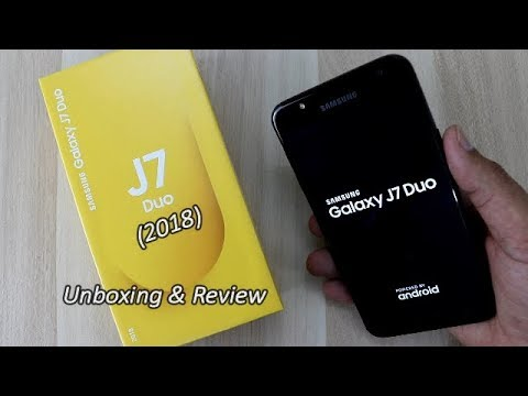 Samsung Galaxy J7 DUO (2018) Unboxing & Full Review !! HINDI