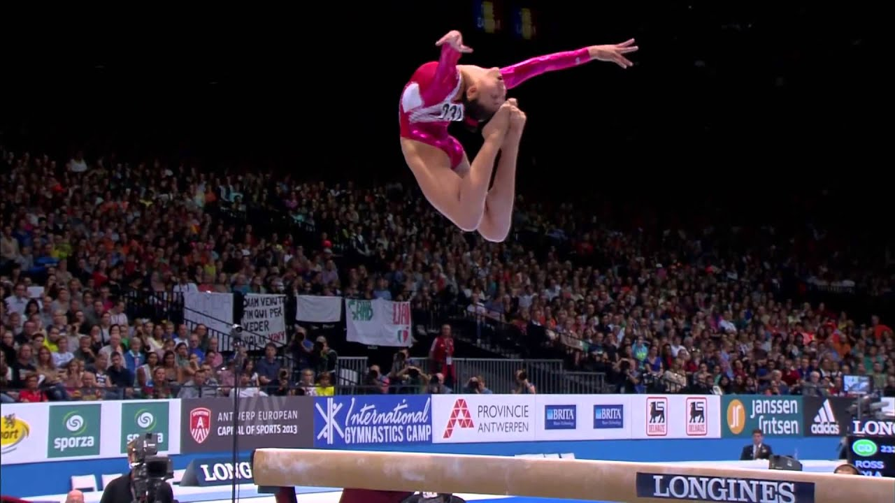Gymnastics  World Championships 2013 BB EF