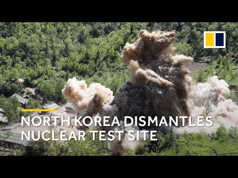 North Korea dismantles nuclear test site