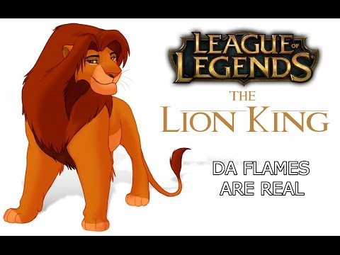 League of Legends in The Lion King