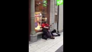 Incredible Street Singer! Dave Stewart (Train - Hey, Soul Sister)