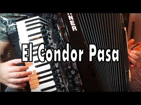 Akordeonda Egzotik Parçalar 2 El Condor Pasa - Murathan Akordeon