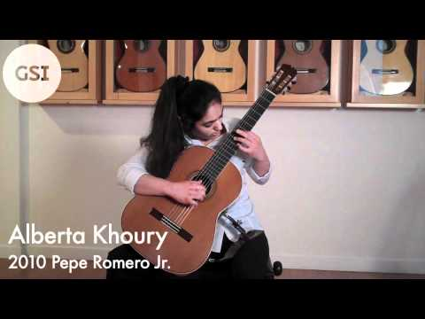 Regondi 'Introduction and Caprice' played by Alberta Khoury