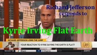 Flat Earth - Richard Jefferson responds to Kyrie Irving Flat Earth