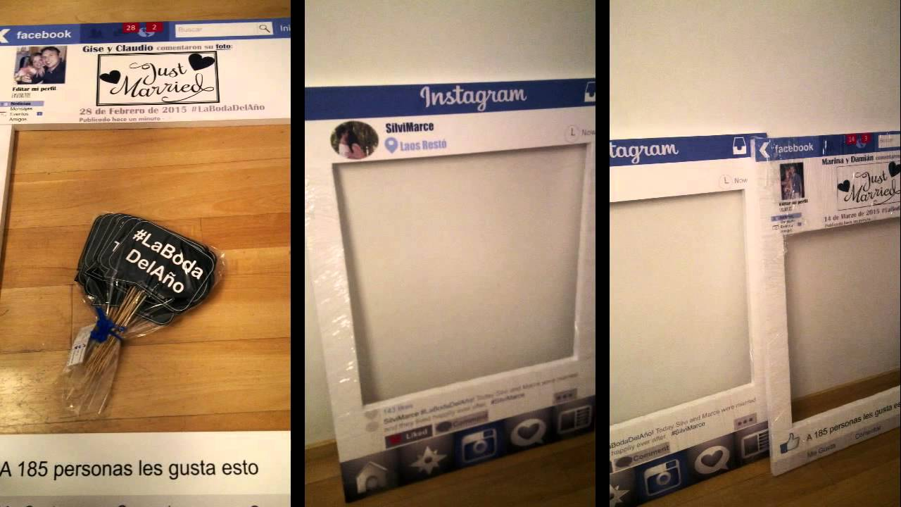 ✓ Marcos Photo Booth tipo Redes Sociales - Mar. | 2015 {by TPF ...