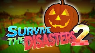 MUSÍME PŘEŽÍT HALLOWEEN! | ROBLOX : Survive the Disasters 2!