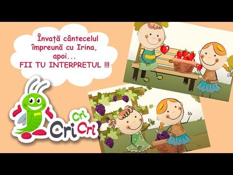 A, a, a, acum e toamna, da | Invata cantecelul impreuna cu Irina | CriCriCri #cantecepentrucopii – Cantece pentru copii in limba romana