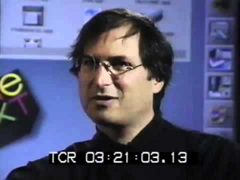 Steve Jobs talking about death, in April 1995