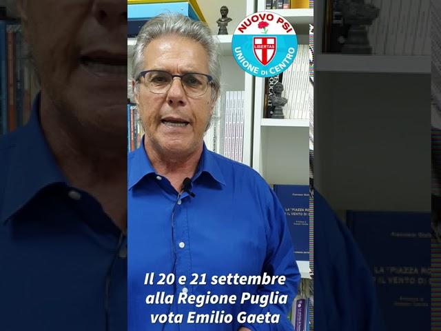 Emilio Gaeta - Appello agli elettori