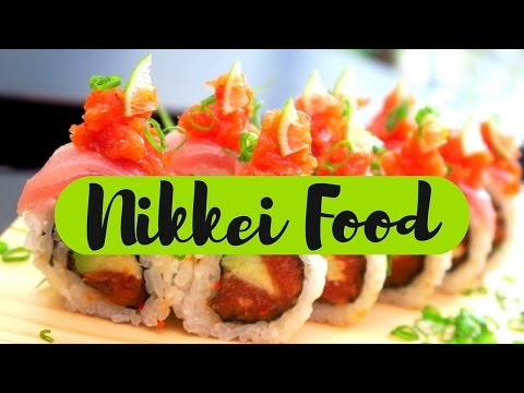 Comida Nikkei Food: Eating Japanese Peruvian Cuisine in Lima, Peru