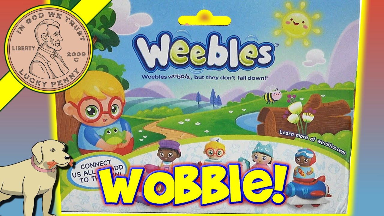 New Weebles Winston Wobbly Boat Weebles Wobble But They Dont Fall Down