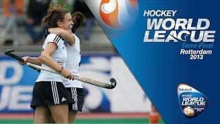 Netherlands vs Germany Women's Hockey World League Rotterdam Final [22/6/13]