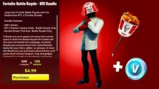 KFC SKIN BUNDLE in Fortnite Battle Royale? (Potential Fortnite x KFC Bundle Promotion?)