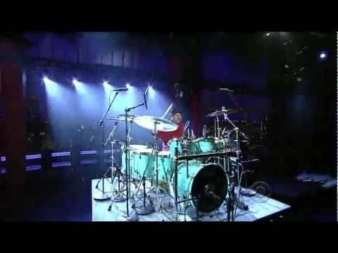 Dennis Chambers - Cissy Strut (drum solo) (Live on Letterman 08-25-2011) [HD 1080p]