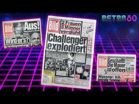 Retro80 #24 📖 BILD Zeitung 1982, 1986 & 1989