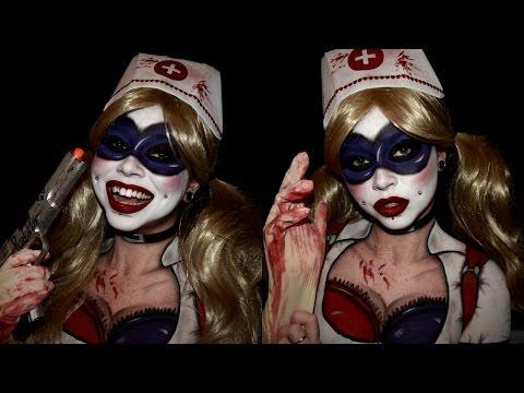 Harley Quinn Arkham Asylum | COSPAINT\COSPLAY MAKEUP