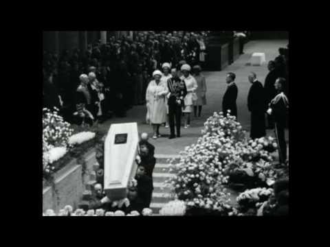 Bijzetting Koningin Wilhelmina (1962)