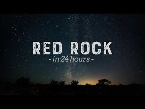 Red Rock in 24 Hours (4k Nature Timelapse)