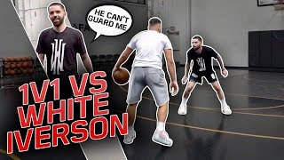 1v1 Against White Iverson | SHIFTY A** BUCKET!